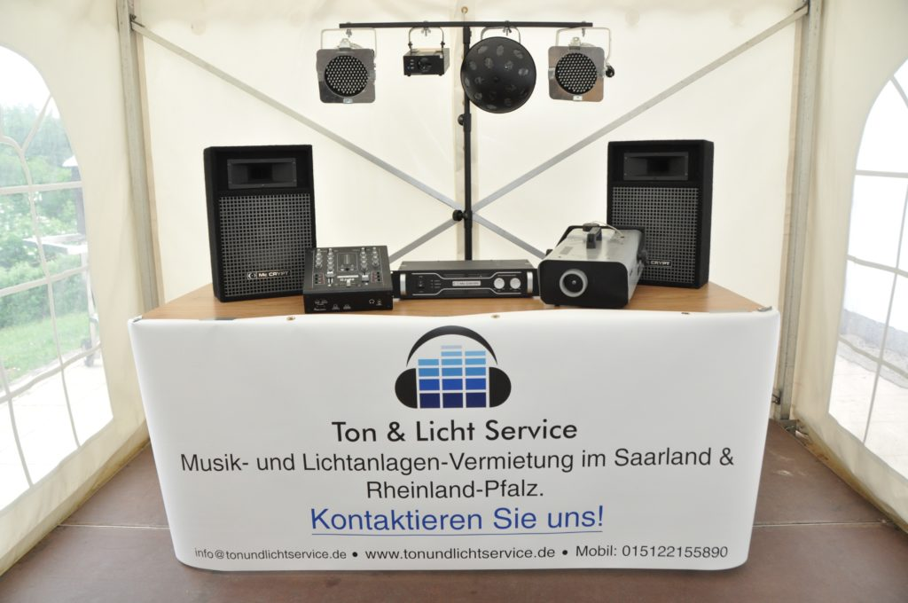 Musikanlage mieten Saarland