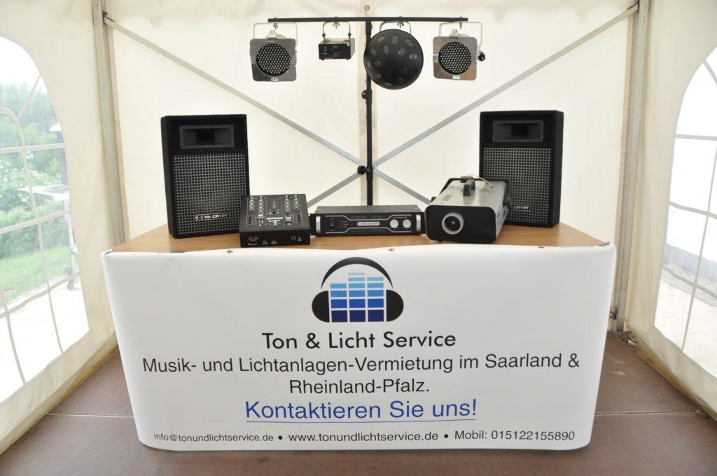 Musikanlage mieten Saarland
